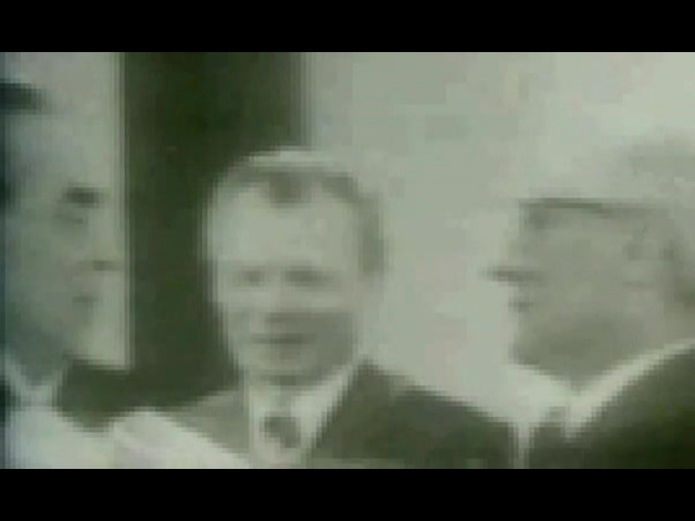 Хонеккер и Брежнев