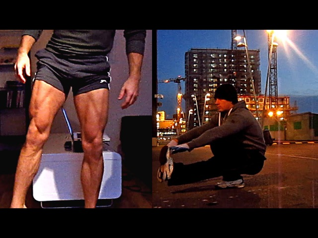Calisthenics LegsGlutes Workout - 10-15 Variations for StreetHomeGym (HD)