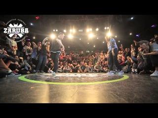 Fusion Concept 2x2 1/2 Final Mariella&Kidman vs Roni&Wanted (win) @ZARUBA III Episode