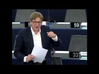 Guy Verhofstadt on Nigel Farage's so-called resignation as UKIP leader