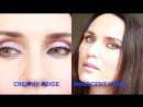 Compare Desio Innocent White Vs Creamy Beige Coloured Contact Lenses CloseUps HD