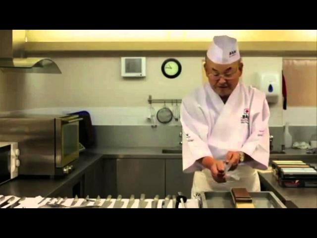 Japanese Knife Sharpening Water Stones with Mino Tsuchida