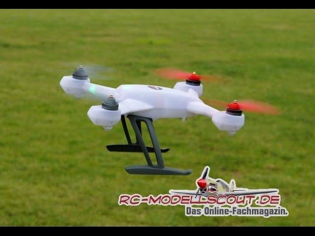 Video zum Testbericht des Blade 200QX auf RC