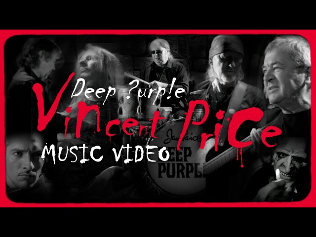 DEEP PURPLE Vincent Price Official Video HD from NOW What OUT NOW