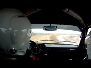 Lada 2105 Rally Traning 14 02 2016 ss1