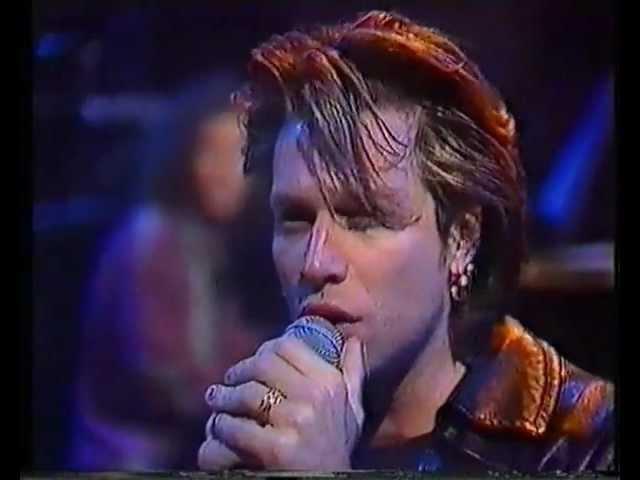 Bon Jovi Bed of Roses acoustic Melbourne 1992