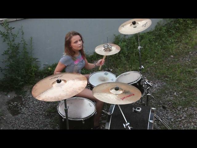 Foo Fighters Arlandria drum cover Виктория Ткаченко