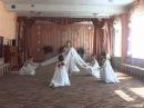Отчетный концерт танцевального кружка Горошинки. Танец Снежинки