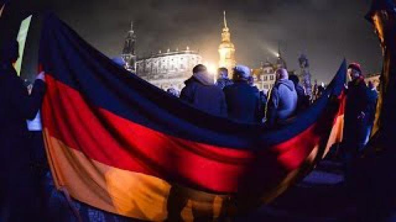 20 000 militants anti immigration Démonstration de force de Pegida à Dresde