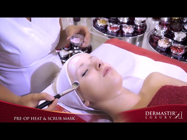 GT009TV Dermastir Pre Op Heating Exfoliating Mask Treatment