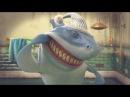 Hungry Shark Shorts - Акула не лечила зубы. Но она акула, ей можно)