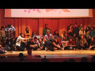 FUNKY MAN 8 | BGIRLS 1/2|  vs Alya