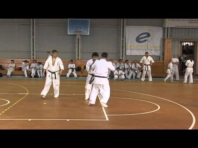 Tariel Nikoleishvili - 20 Kumite (Dan-test)