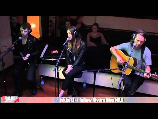 Lykke Li - I follow Rivers - Live - CCauet sur NRJ