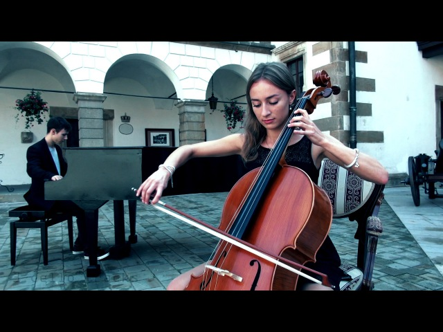 N. Paganini - Piano Cello Cover -Paweł Opyd Ewelina Łubik - Sonata No.12 E Minor Op.3