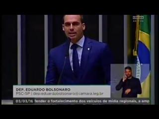 Eduardo bolsonaro impeachment de dilma e lula na cadeia