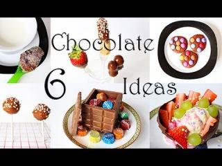 Kche Kreativ: 6 tolle Ideen mit Schokolade. Hacks und Tricks fr Party und Kindergeburtstag.