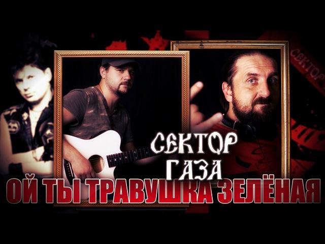 Ой ты травушка зелёная СЕКТОР ГАЗА Как играть на гитаре 2 партии Аккорды табы Гитарин