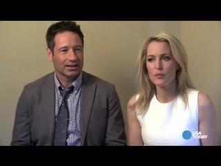 X-Files stars on series reboot