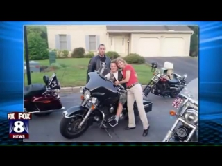 Coolest kid in class motorcyclists escort boy to first day of high school