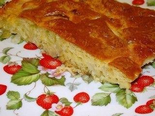 Ленивый пирог с капустой, быстрее не бывает  Приготовить этот...