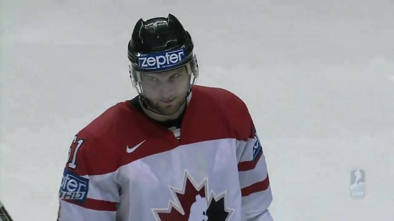 Канада - Россия. Квебек ЧМ по хоккею 2008 - Финал. Впервые за 15 лет мы стали че-Обрезка 01