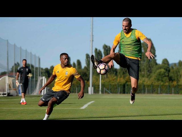 Eying up Espanyol - Juventus al lavoro su tecnica e tattica