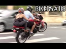 BIKERS 118 Superbikes on the STREETS Wheelies Burnouts LOUD sounds