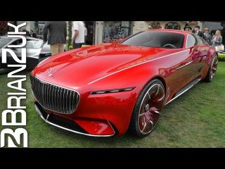 Новый купэ Mercedes-Maybach 6 Vision