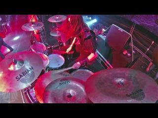 DARK FUNERALThe Secret of The Black Arts-Dominator-live at Brutal Assault 2016 (Drum Cam)
