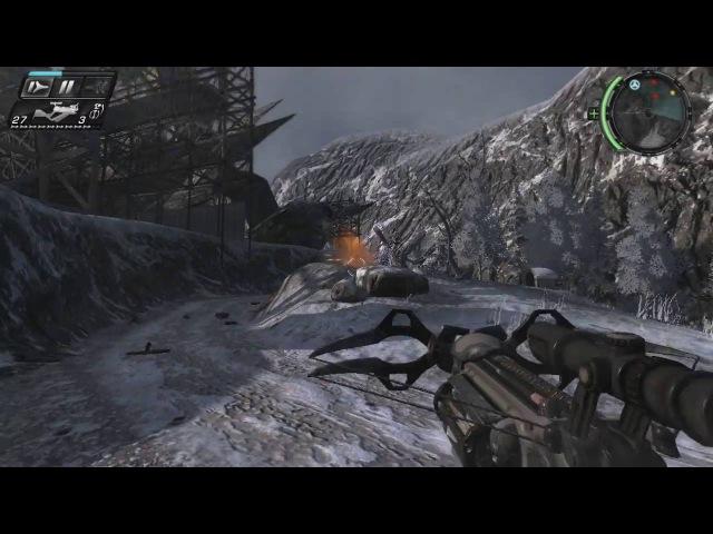 Прохождение TimeShift с ракетой в улей часть 6