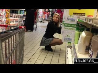 — flashing my pussy in public in a shopping center (public, exhibitionism, публичный экзгибиционизм)