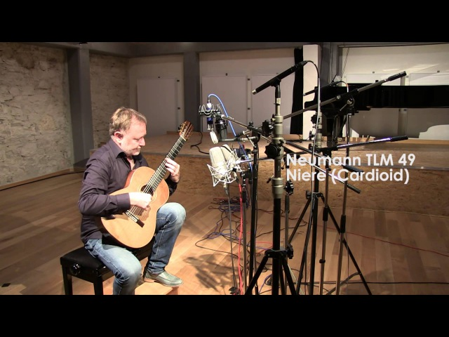 Comparison test of five microphones with classical guitar Schoeps V4 vers Neumann M 149 etc