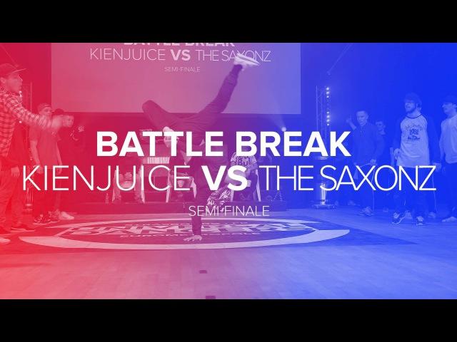 UD/16 I KIENJUICE vs THE SAXONZ I BBOYING SEMI-FINALS 2/2 I OFFICIAL