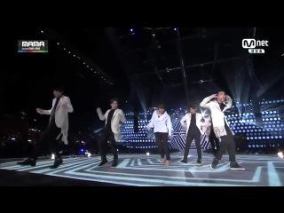 [CUT] 141203 Mnet Asian Music Awards 2014 (MAMA 2014) @ EXO - Deep Breath + Overdose
