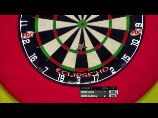 Simon Whitlock vs Dean Winstanley (Players Championship Finals 2014 / Round 1)
