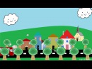 Hjulene På Bussen Norsk Barnesang Animasjon For Barn