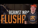 Flusha INSANE 1VS4 CLUTCH vs. NaVi - ESL Pro League Season 3 ~ CSGO