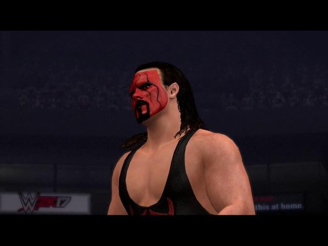 WWE2k17 Showcase PS3 Sting in nWo Wolfpac ring gear vs Bret Hart WCW Halloween Havoc 1998