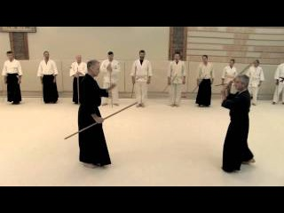 Traditional Jodo with Daniel Pearson Summer 2014 part 3