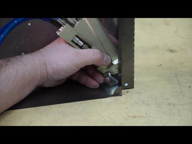 Ручная лазерная сварка на установке HTF 50 с волоконным выводом излучения [OKB BULAT]