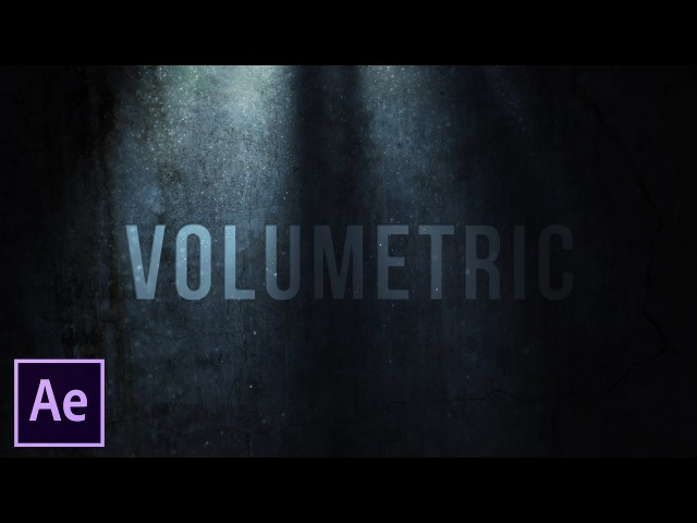After Effects Tutorial Volumetric Light and Dust (No Plugins)