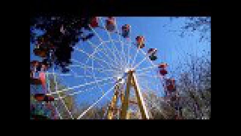 Майские выходные парк Челюскинцев Санта в Лунинце Влог