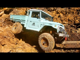 RC Extreme Pictures  RC Cars OFF Road 4x4 Adventure  Jeep Rubicon and Toyota FJ45 vs R1 Buggy