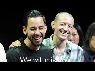 Chester Charles Bennington has died (Linkin Park), we will miss you..