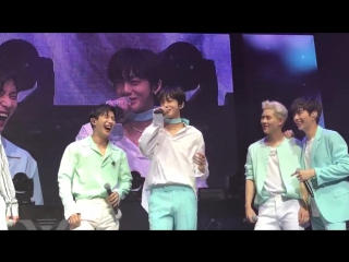 Fancam The 1st World Tour: Beautiful in Los Angeles D-2