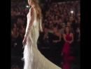 Romee Strijd walking for Pronovias Fashion Show during Barcelona Bridal Fashion Week April 28 2017