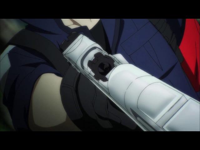 Синяя весна и механическая пушка Aoharu x Kikanjuu 08 AniDub