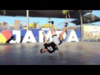 JONAS FLEX AND YURI - BREAKING IN JAMPA 2016