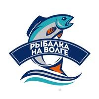 Логотип Рыбалка на Волге
